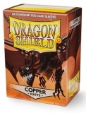Obal Dragon SHield 100ks MATTE – meď COPPER