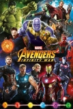 Plagát Avengers Infinity War Poster Characters 61 x 91 cm