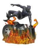 18/12 Black Panther Marvel Movie Gallery PVC Statue Black Panther Version 2 23 c