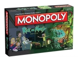 Rick and Morty Board Game Monopoly EN