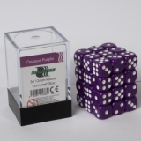Kocka Set (36) - BF 12mm D6 - Opaque Purple