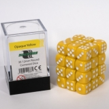 Kocka Set (36) - BF 12mm D6 - Opaque Yellow