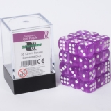 Kocka Set (36) - BF 12mm D6 - Transparent Light Purple