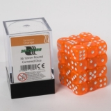 Kocka Set (36) - BF 12mm D6 - Transparent Orange