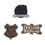 Odznak Harry Potter Ravenclaw Lapel Pin Set 3-Pack