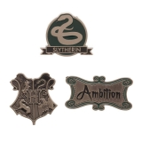 Odznak Harry Potter Slytherin Lapel Pin Set 3-Pack