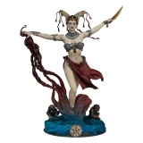 19/08 Court of the Dead PVC Statue Gethsemoni - Queens Conjuring 25 cm
