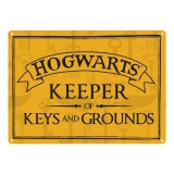 Harry Potter Tin Sign Keeper of Keys 21 x 15 cm