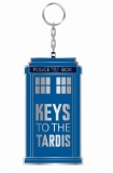 Kľúčenka Doctor Who Metal Keychain Keys To The Tardis 7 cm