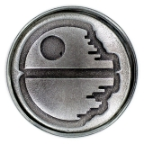 Odznak Star Wars Click Badge Death Star