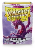 Obal Dragon Shield 100ks MATTE - Clear Purple