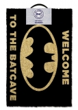 Rohožka - DC Comics Doormat Welcome To The Batcave BLACK 40 x 60 cm