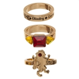 Prsteň - Harry Potter 3 Ring Set Gryffindor