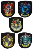 Nášivky Harry Potter Patches 5-Pack House Crests