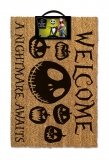 Rohožka - Nightmare before Christmas Doormat A Nightmare Awaits 40 x 60 cm
