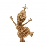 Model - Frozen IncrediBuilds 3D Wood Model Kit Olaf