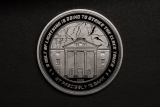 Back to the Future Collectable Coin 25th Anniversary Clock Tower Silver Edition