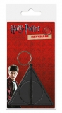 Kľúčenka Harry Potter Rubber Keychain Deathly Hallows 6 cm
