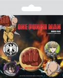 Odznak One Punch Man Pin Badges 5-Pack Destructive