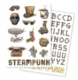 Magnetky - Steampunk Fridge Magnets 72-Pack