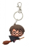 Kľúčenka Harry Potter Rubber Keychain Harry Potter & Broom Nimbus 7 cm