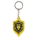Kľúčenka - World of Warcraft Rubber Keychain Alliance Pride 4 cm