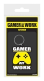 Kľúčenka Gamer At Work Rubber Keychain Joypad 6 cm