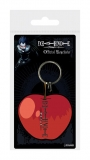 Kľúčenka Death Note Rubber Keychain Apple 6 cm