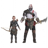 God of War (2018) - 18cm Scale Action Figure - Ultimate Kratos & Atreus 2-Pack