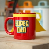 Šálka Super Dad Mug with cape