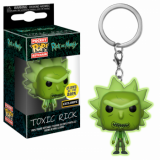 Kľúčenka POP: Rick and Morty - Toxic Rick 4 cm