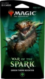 Magic the Gathering TCG: War of the Spark - Theme Booster GREEN