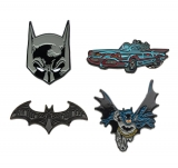 Odznak DC Comics Collectors Pins 4-Pack Batman