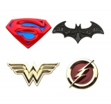 Odznak DC Comics Collectors Pins 4-Pack Justice League