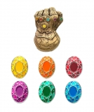 Odznak Marvel Collectors Pins 5-Pack Infinity Gauntlet