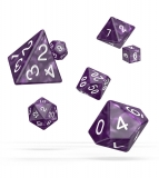 Kocka Set (7) - Oakie Doakie Dice RPG Set Marble - Purple
