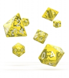 Kocka Set (7) - Oakie Doakie Dice RPG Set Translucent - Yellow