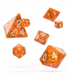 Kocka Set (7) - Oakie Doakie Dice RPG Set Translucent - Orange