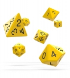 Kocka Set (7) - Oakie Doakie Dice RPG Set Solid - Yellow