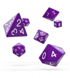Kocka Set (7) - Oakie Doakie Dice RPG Set Solid - Purple