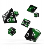 Kocka Set (7) - Oakie Doakie Dice RPG Set Glow in the Dark - Biohazard