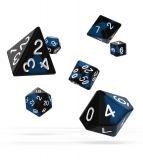 Kocka Set (7) - Oakie Doakie Dice RPG Set Glow in the Dark - Deep Ocean