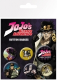 Odznak Jojo's Bizarre Adventure Pin Badges 6-Pack Characters