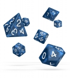 Kocka Set (7) - Oakie Doakie Dice RPG Set Marble - Blue