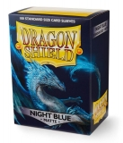 Obal Dragon Shield 100ks MATTE - Night Blue