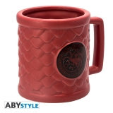 Šálka Game of Thrones 3D Mug Targaryen