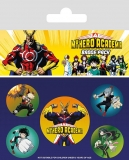 Odznak My Hero Academia Pin Badges 5-Pack Characters