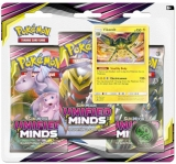Pokémon TCG: Sun & Moon Unified Minds 3-PACK BLISTER