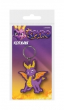 Kľúčenka Spyro the Dragon Rubber Keychain Dragon Stance 6 cm