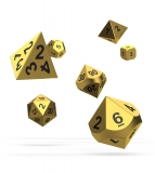 Kocka Set (7) - Oakie Doakie Dice RPG Set Metal Dice - Aurym